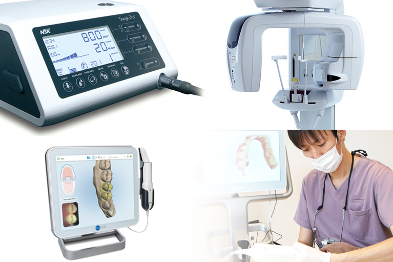 デジタルを駆使した最新設備と最先端のインプラント治療